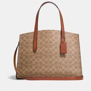 COACH Charlie Carryall in Signature Canvas - NWT's